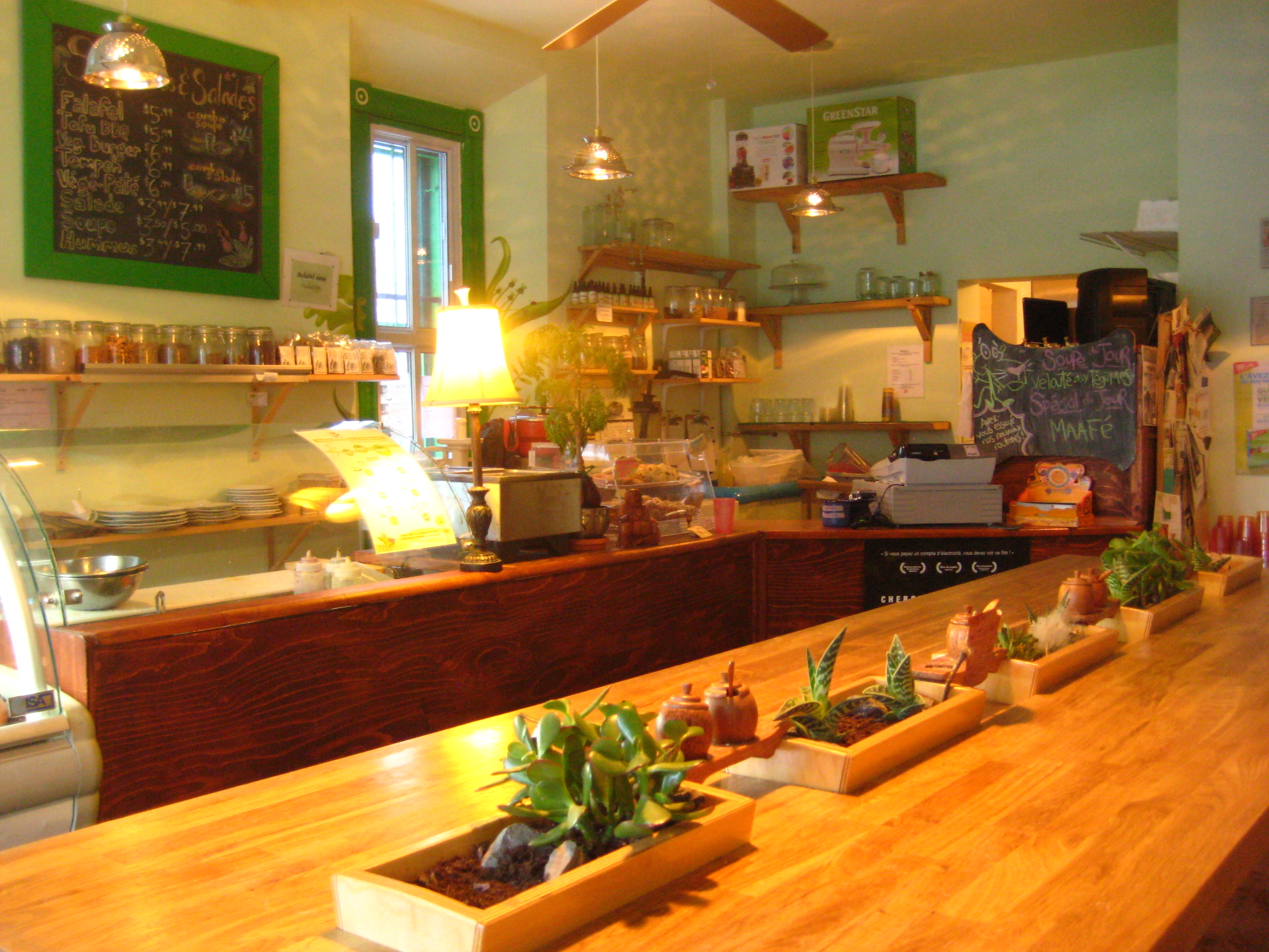Restaurant Vegetalien Livraison Montreal