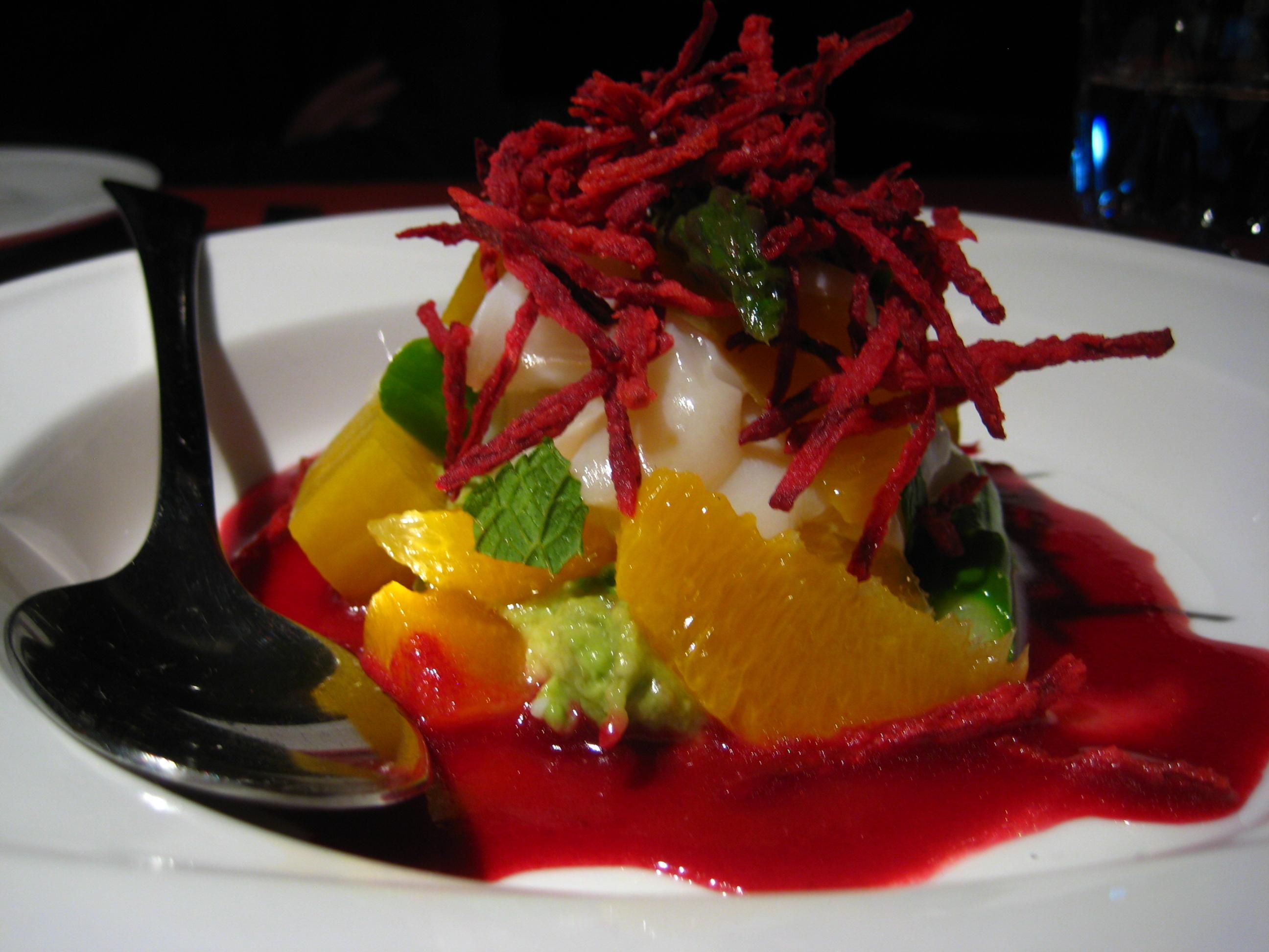 Le_filet_salade de petoncles