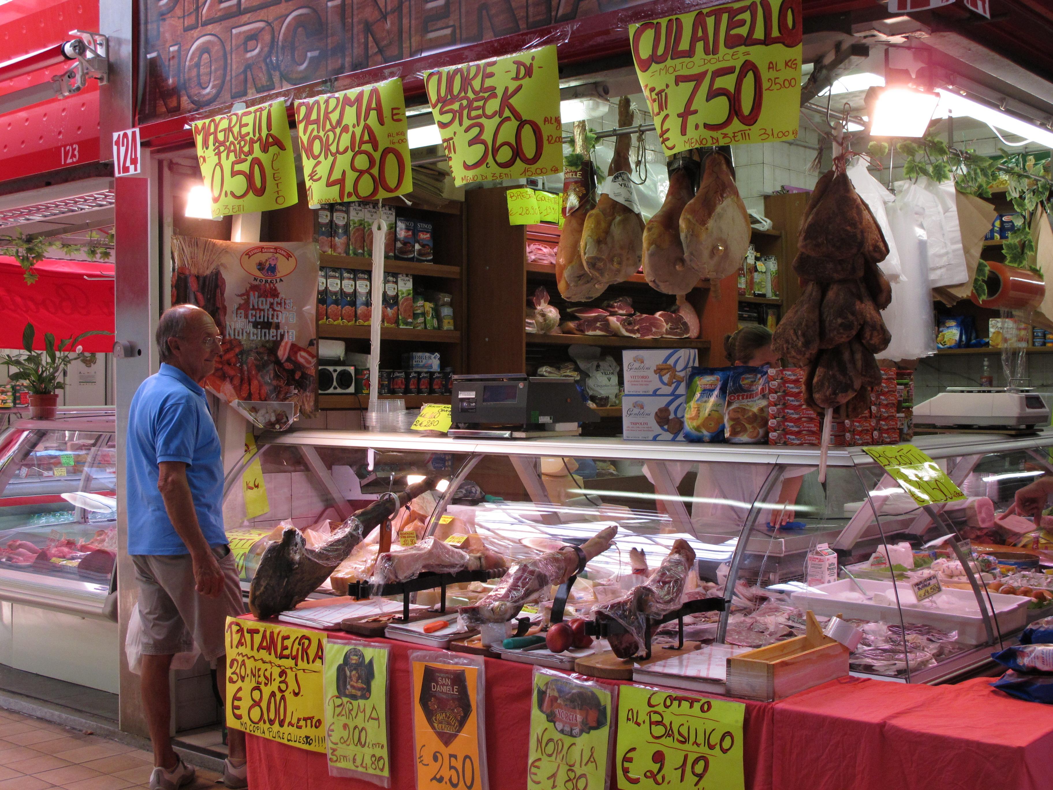 market italy