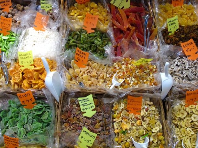 market dry fruits